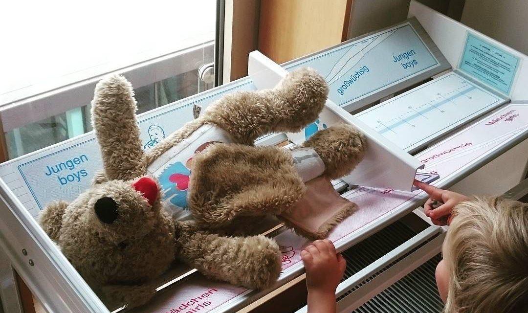 Teddy muss noch wachseln